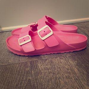 Used Birkenstock flip flops